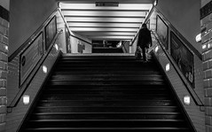 IMG_2766 (::Lens a Lot::) Tags: leitz wetzlar elmaritr 3cam 28mm f28 1985 | 6 blades iris leica r f8 paris 2017 street photography streetphotography night light depth field vintage manual fixed length prime lens german germany west metro underground stairs dark contrast people