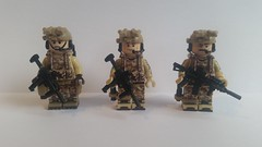 SEAL Team 6 (WIP) (影Shadow98) Tags: lego special forces modern military brickarms tiny tactical minifigcat navy seal devgru hk416 mp7 p226