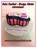 Naught 40th Birthday Cake #birthday #40th #designer #gurgaon #noida #southdelhi #newdelhi #gift  #designercake #delhi #fondant #themed #naughty (Cake Central-Design Studio) Tags: firstbrthday designercake delhi fondant themed kidscake