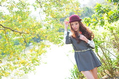 Lili0012 (Mike (JPG直出~ 這就是我的忍道XD)) Tags: lili 台灣大學 d300 model beauty 外拍 portrait 2014