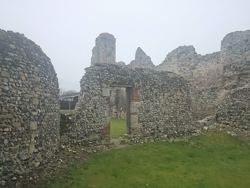 Nave and cloister remains