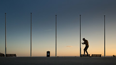 i zimbra (dizbin) Tags: color candid colour city dizbin england em10 evening hoe uk skateboard skate sky light landscape mzuiko backlit backlight olympus outdoors omd10 photo photograph photography people portrait prime summer sunset sun street streetphotography plymouth silhouette water sea seaside seafront