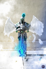 Viridian Kayle | League of legends (kitphotography) Tags: lol league leagueoflegends legends moba game videogame cosplay cosplaying cosplayer costume armor craft kyle viridian