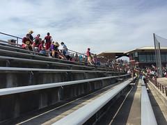 Theunissen Stadium 004 (mwlguide) Tags: stadium collegiate theunissenstadium ballpark ballyard field chippeaws 3611 may mountpleasant cmu centralmichigan cloud apple iphone sky 2017