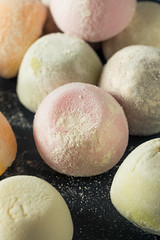Sweet Japanese Mochi Ice Cream (brent.hofacker) Tags: appetizer asian background cake candy chocolate coconut cold color colorful confectionery cream cuisine culture delicious dessert diet food frozen gourmet green healthy ice icecream ingredient japan japanese japaneseicecream kitchen mochi mochiicecream nutritious pink red soft sticky strawberry sweet tasty tea traditional white yummy