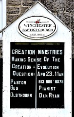 Winchester Baptist Church (Will S.) Tags: mypics winchester sdg ontario canada winchesterbaptistchurch baptist evangelical protestant christian church sign 1860 1869