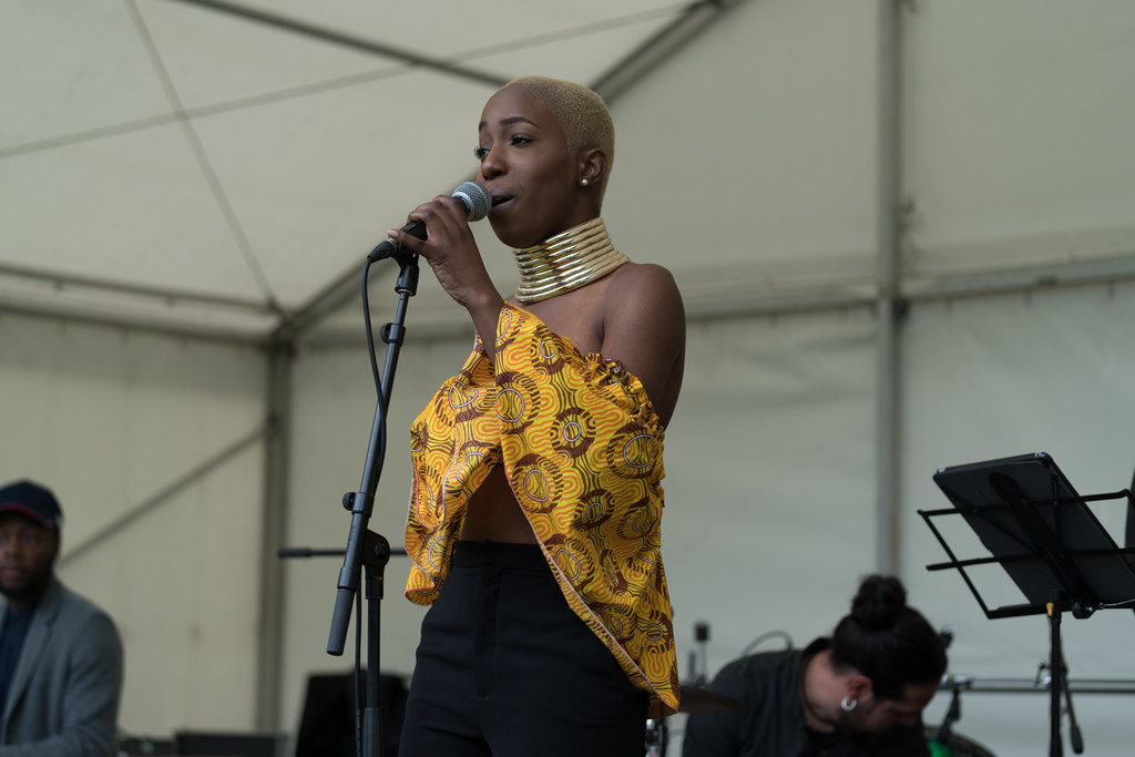 NC GREY IS A SOUL SINGER SONGWRITER [SHE PERFORMED AGAIN AT AFRICA DAY IN DUBLIN]-128604
