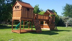 Ticonderoga Bridged to Mustang Playset (Backyard Fun Factory) Tags: swingset accessories woodenfort woodswingset woodenplayset backyardplayset slides cabins swings redwood summer sunny sunshine digital usa new smile market baby kids child fun outdoor architecture building family backyardswingset landscape home backyardfort swingsetaccessories playsetaccessories playset backyardswingsets climbers woodplaysets woodswing