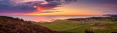 Sunset at Vigra (ATEfoto) Tags: norway vigra dusk landscapephotography sea shadeoforange sunset aalesund mr 578 landscape panorama gigapixel hdr