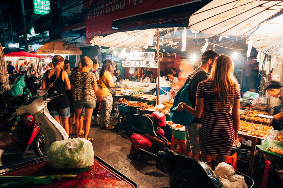 When in Chiang Mai be sure to take the time and visit the market