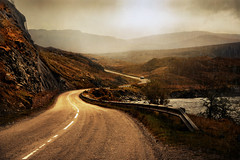 Highland road (PentlandPirate of the North) Tags: highlands islands road curve mountains scotland