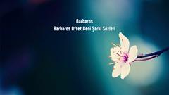 Barbaros Affet Beni sözleri