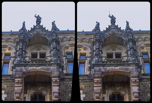 Schloss Wernigerode 3-D / Stereoscopy / CrossEye / HDR / Raw