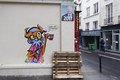 Nite Owl (Ruepestre) Tags: nite owl art paris france graffiti graffitiparis street streetart urban exeploration wall mur ville city graffitifrance