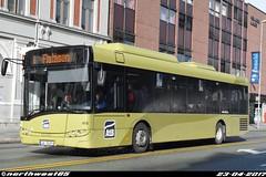 455 (northwest85) Tags: atb ga 10295 455 solaris alpino 89 le 6 flatåsen olav tryggvasons gate trondheim norway buss bus norge ga10295