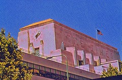 Los Angeles Times Building ~ Historic Landmark ~ Los Angele California (Onasill ~ Bill Badzo) Tags: photo vintage old art deco nrhp regster landmark monument losangeles ca california losangelescounty times news paper building historic spring street g b kaufmann designer architect downtown headquarters onasill southern cultural architecture facade