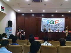 "2017 May 18: Internet Governance Forum, BMICH, Colombo • <a style=""font-size:0.8em;"" href=""http://www.flickr.com/photos/76029069@N00/34818283795/"" target=""_blank"">View on Flickr</a>"