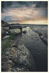 (Frank S. Schwabe) Tags: kristiansund nordmøre norway brunsvika sunset cloudy clouds summer norge coast westcoast atlantic windy wind ripples canon 6d eos ef24mmf28isusm 24mm