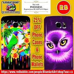 SOLD! #Rainbow #Lorikeet & #Pink #Owl #Samsung #Galaxy #Cases - #Designs by #BluedarkArt 🌟  25% off #iPhone #cases, #Samsung #cases, and #iPhone #wallets. Use code PHONE25 🌟  https://www.redbubble.com/people/bluedarkart/shop/device-cases?accor (BluedarkArt) Tags: pinkowl cases rainbow wallets galaxy phonecase iphone giftsideas merchandise rainbowlorikeet designs coolstuff samsunggalaxycases tecgnology 4sale phonewallets samsung lorikeet sale bluedarkart pink ecommerce owl onsale design