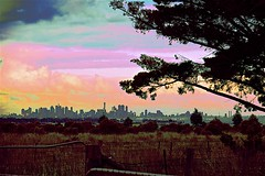 Melbourne Cityscape! (maginoz1) Tags: skyscape landscape surreal abstract art pylons curves manipulate june 2017 canon g3x