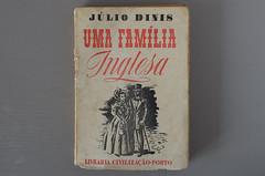 Uma família Inglesa, Júlio Dinis (Rui Type Abreu) Tags: júlio dinis book novel slab serif english portuguese literaturebold typeface egiptian reverse contrast script
