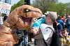 T. Rex Food (Andy Marfia) Tags: chicago loop congresspkwy marchforscience mfschi tyrannosaurus trex costume protest rally march d7100 1685mm 1640sec f63 iso100