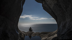 Could I have a room with sea view, please? (bent inge) Tags: norway vestagder flekkefjord brufjell brufjellhålene april 2017 bentingeask seascape caves ocean