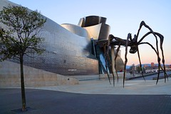 early mornng (sacipere) Tags: bilbao spain guggenheim maman