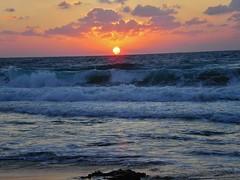 ctex (LihiKey) Tags: beach landscape shore clouds waves coast sand sunset