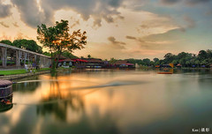 Cloudy Sunset @Yishun Orto (Ken Goh thanks for 2 Million views) Tags: yishun orto cloudy sunset water reflection landscape ultra wide angle pentax k1 sigma 1020