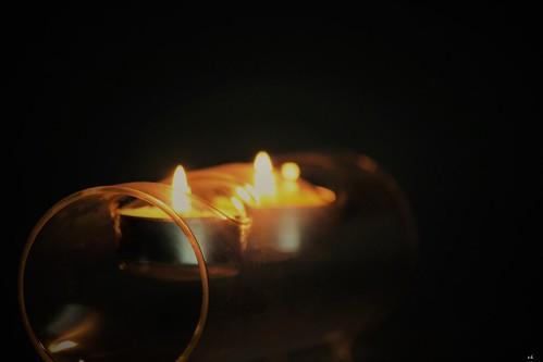 duo de petites flammes