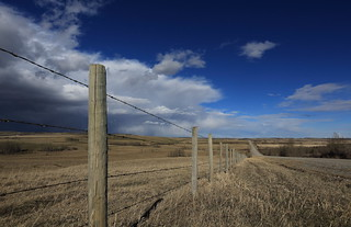 Canadian Prairies in April