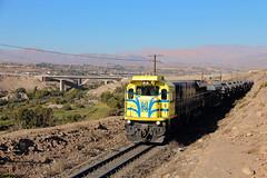 El Hierrero (Mono_Shadow) Tags: emd electro motive division diesel gt46ac gt46 4600 ferronor 4602 4603 hierro vallenar los colorados huasco pellet freirina freight trains