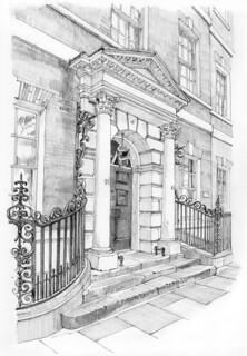 Doorway, Micklegate House, 88-90 Micklegate, York