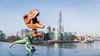 Roaring in London (Reiterlied) Tags: 1020mm angle d500 dslr dino dinosaur frankensteinosaurus lens london nikon photography raptor reiterlied shard sigma stuckinplastic trex toy tyrannosaur uwa velociraptor velocirex wide