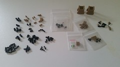 Tiny Tactical Order just arrived (影Shadow98) Tags: lego tiny tactical weapon modern warfare holographic optics operator