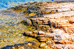 Agia Irini, Paros (Kevin R Thornton) Tags: d90 beach nikon travel bay mediterranean greece rock agiairini landscape paros egeo gr