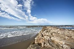 Cielo e scogli (gcarmilla) Tags: mare scogli cielo nuvole seascape