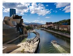 Bilbao (BerColly) Tags: espagne bilbao paysbasque été summer fête ville city museum guggenheim market riviere river samsung smartphone bercolly google flickr