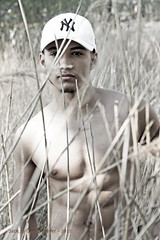 IMG_6254eh (Defever Photography) Tags: male model fitness inked tattoo portrait 6pack nature reed thatch cap