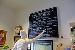 Checking Train Status (craigsanders429) Tags: southernarizonatransportationmuseum tucsonarizona railroadmuseums
