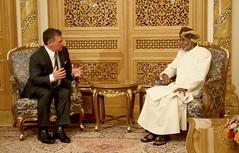 OMAN (Royal Hashemite Court) Tags: hmkjo jordan kingabdullahii kingabdullah sutan qaboos oman الأردن عُمان جلالة الملك عبدالله الثاني مسقط muscat