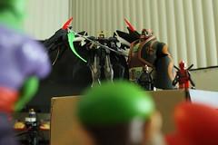 Ganondorf Ruling 4 (greatbamgino) Tags: luigi piccolo gundam deadpool ganondorf dbz super mario bros spiderman lego