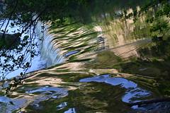 water reflection cascade abstract abstrait eau reflet