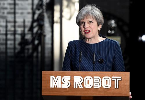 Theresa May is Ms Robot