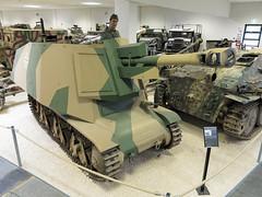 10.5cm leFH 18 auf Geschützwagen 38H (f) / Replica (270862) Tags: tank m24 museum panzer mmpark