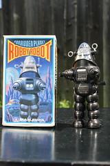 Robby The Robot Wind-Up (Masudaya 1984) (Donald Deveau) Tags: robby robbytherobot robot forbiddenplanet sciencefiction toys toyphotography vintagetoy windup masudaya japanesetoy