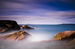 Forty Foot 16May2017 3 (Helen Mulvey) Tags: fortyfoot dubln dunlaoghaire sea tide waves long exposre cloud movement water watermovement nikon d5100 tripod wet wellies seascape landscape outdoor