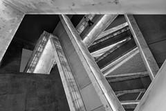 Canadian Museum for Human Rights (Timothy Neesam (GumshoePhotos)) Tags: blackandwhite bw museum human rights winnipeg manitoba canada architecture escher fuj fujifilm xt2