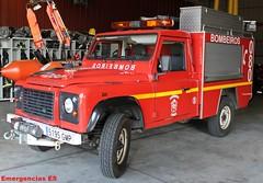 Bomberos Ferrol (emergenciases) Tags: bomberos emergencias 112 080 ferrol galicia acoruña landrover vehículo rescate unidadderescateenaltura ura